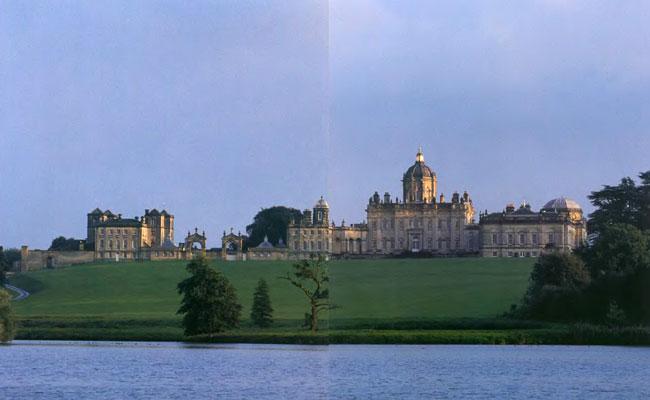 Замок Ховард близ Йорка (Великобритания) 24873