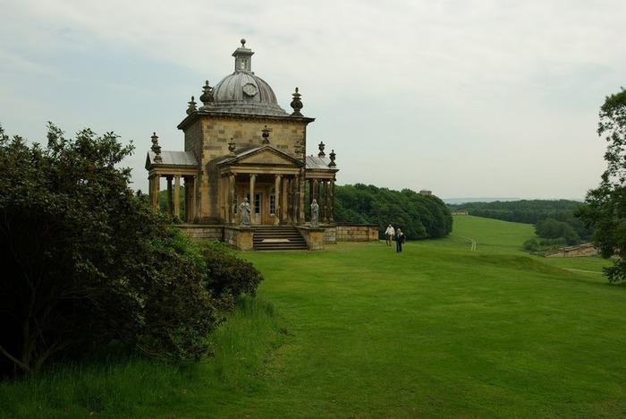 Замок Ховард близ Йорка (Великобритания) 75414