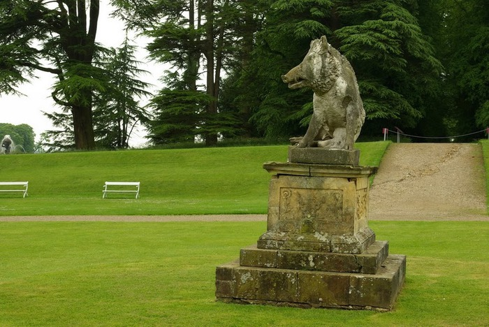 Замок Ховард близ Йорка (Великобритания) 29755