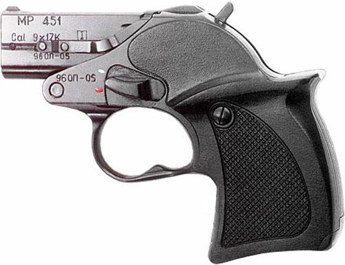 Пистолет выполнен из стали,
