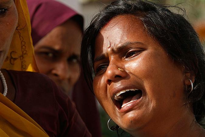 Смертельная давка в храме индийского города Кунды | Число жертв составило 63 человека
