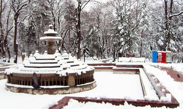 центр кишинева, фонтан
