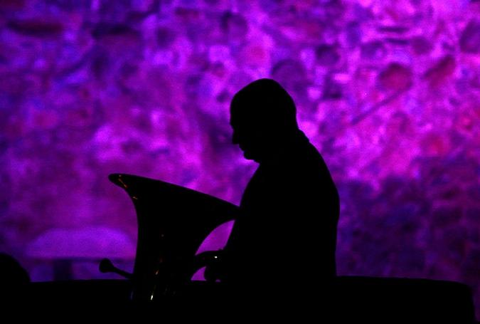Международный фестиваль военной музыки в Нью-Дели, Индия, 3 марта 2010 года.
