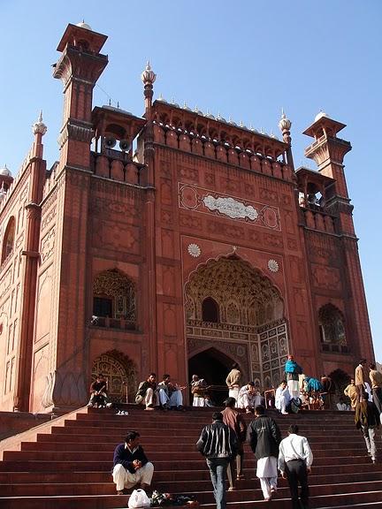 Мечеть Бадшахи (Badshahi Mosque) Лахор, Пакистан 35017