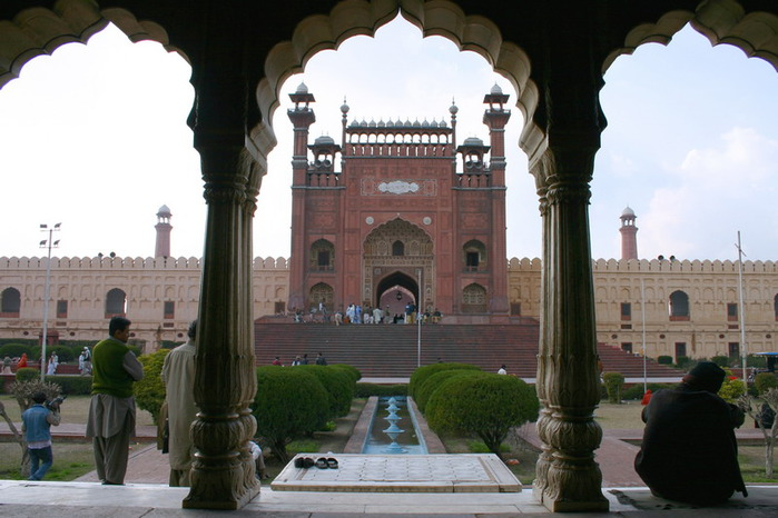 Мечеть Бадшахи (Badshahi Mosque) Лахор, Пакистан 20028