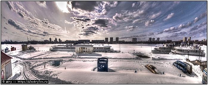 Речной вокзал (панорама, HDR)
