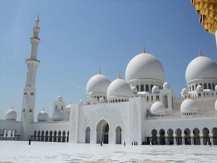 Мечеть Шейха Заида Бин Султана Аль Нахьяна - Sheikh Zayed bin Sultan Al Nahyan Mosque 13136