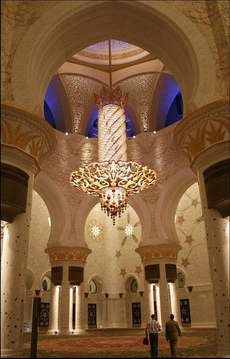 Мечеть Шейха Заида Бин Султана Аль Нахьяна - Sheikh Zayed bin Sultan Al Nahyan Mosque 10504