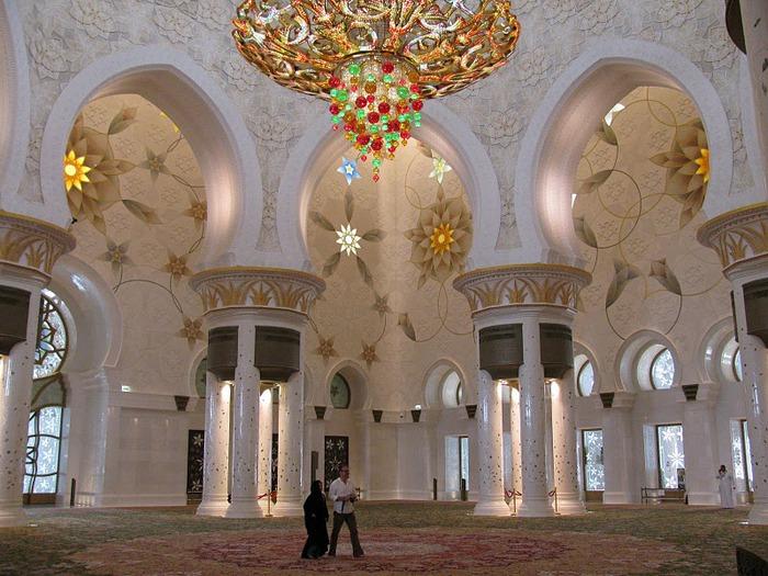 Мечеть Шейха Заида Бин Султана Аль Нахьяна - Sheikh Zayed bin Sultan Al Nahyan Mosque 24358