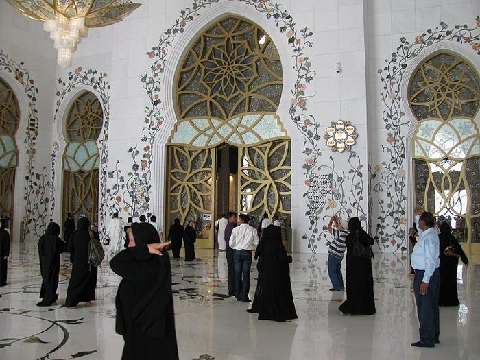 Мечеть Шейха Заида Бин Султана Аль Нахьяна - Sheikh Zayed bin Sultan Al Nahyan Mosque 71173