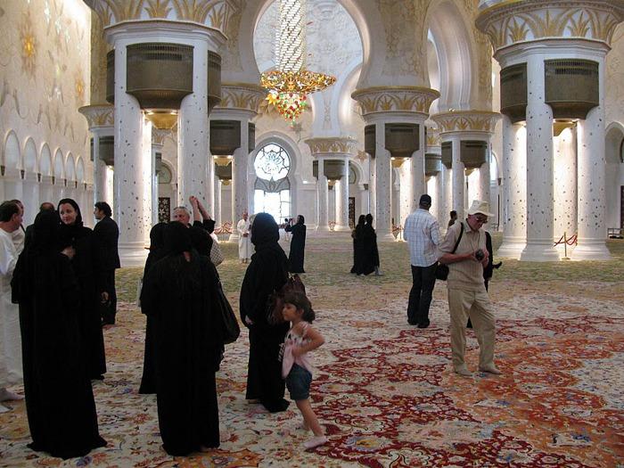 Мечеть Шейха Заида Бин Султана Аль Нахьяна - Sheikh Zayed bin Sultan Al Nahyan Mosque 22859