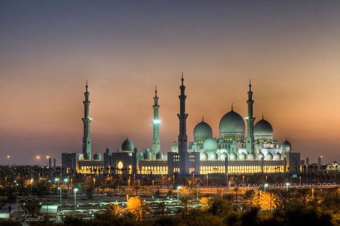 Мечеть Шейха Заида Бин Султана Аль Нахьяна - Sheikh Zayed bin Sultan Al Nahyan Mosque 96108