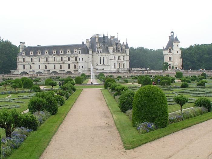 ЗАМОК ШЕНОНСО (Chateau de Chenonceau) 89739