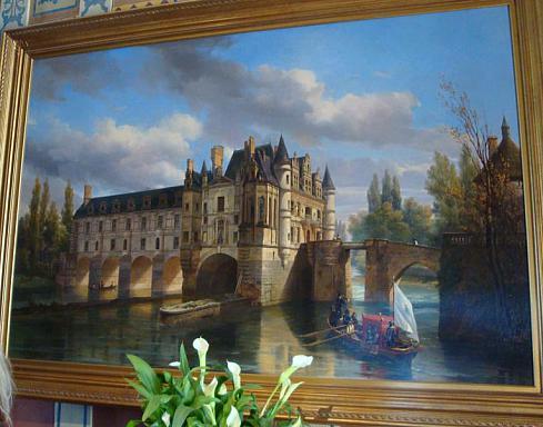 ЗАМОК ШЕНОНСО (Chateau de Chenonceau) 22857