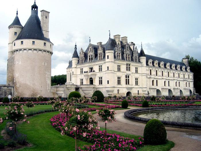 ЗАМОК ШЕНОНСО (Chateau de Chenonceau) 80056