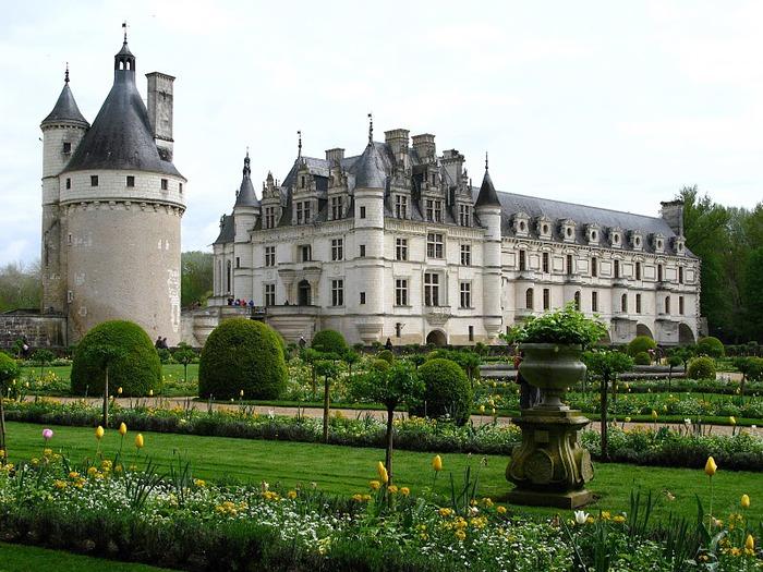 ЗАМОК ШЕНОНСО (Chateau de Chenonceau) 74306