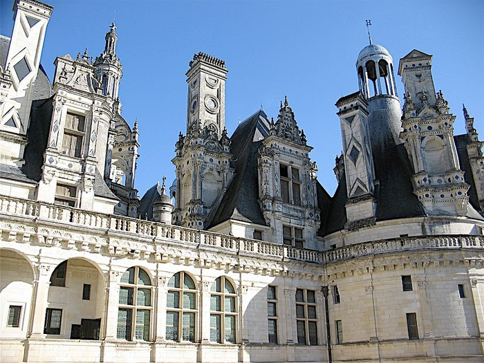 Замок Шамбор – королевский каприз 83426