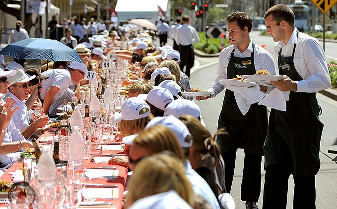 В Москве пройдет фестиваль мировой еды