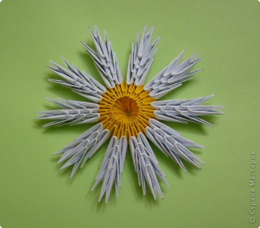 Переворачиваем цветок: