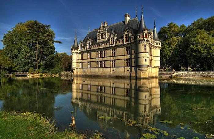Замок Азе-ле-Ридо-Chateau D'Azay le Rideau 91233