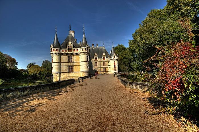 Замок Азе-ле-Ридо-Chateau D'Azay le Rideau 83558