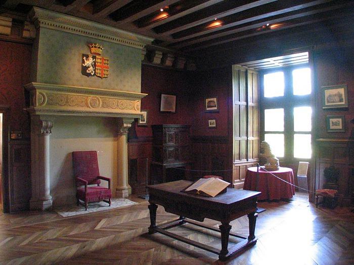 Замок Азе-ле-Ридо-Chateau D'Azay le Rideau 50630