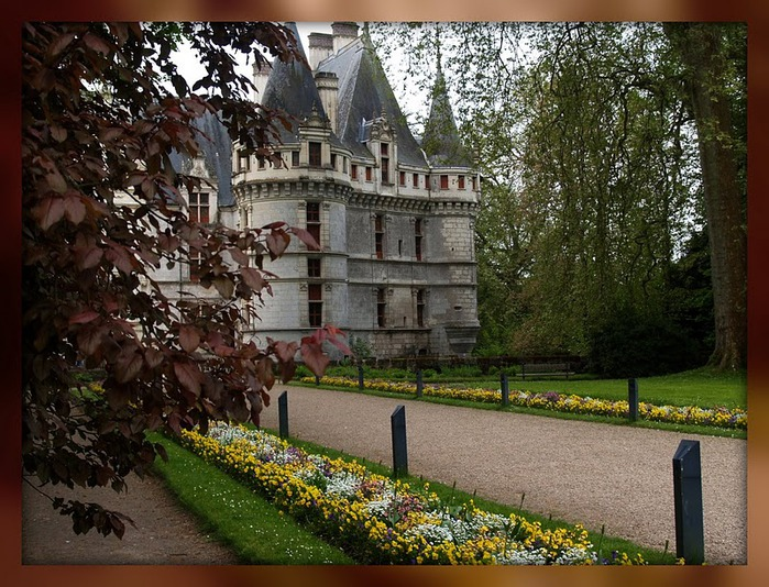 Замок Азе-ле-Ридо-Chateau D'Azay le Rideau 40419