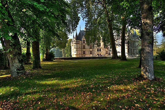 Замок Азе-ле-Ридо-Chateau D'Azay le Rideau 30102