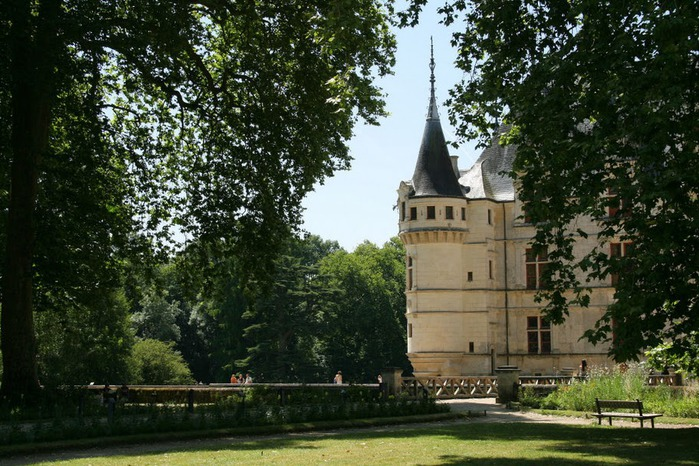 Замок Азе-ле-Ридо-Chateau D'Azay le Rideau 98863