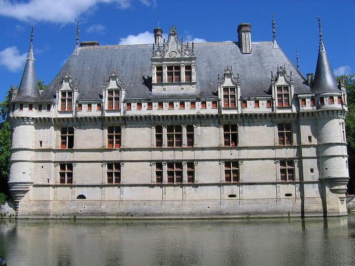 Замок Азе-ле-Ридо-Chateau D'Azay le Rideau 78712