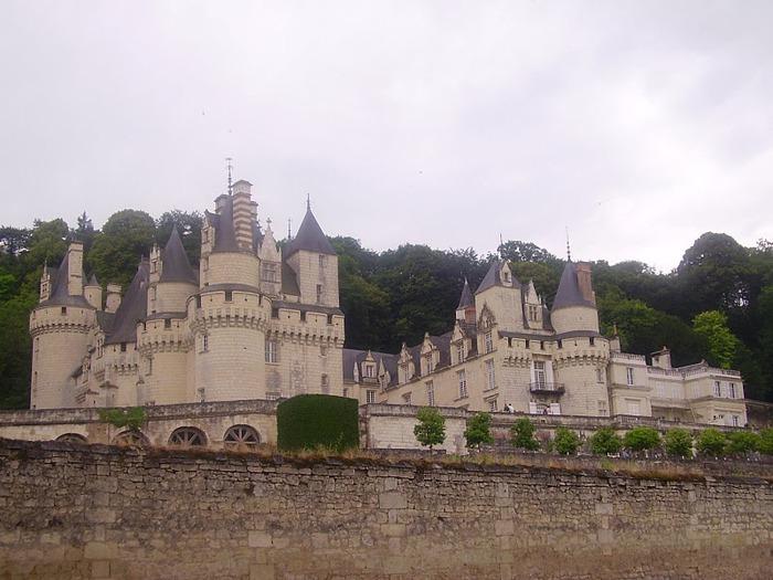 Замок Юссе - «замок спящей красавицы» 27217