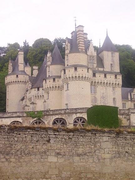 Замок Юссе - «замок спящей красавицы» 19402