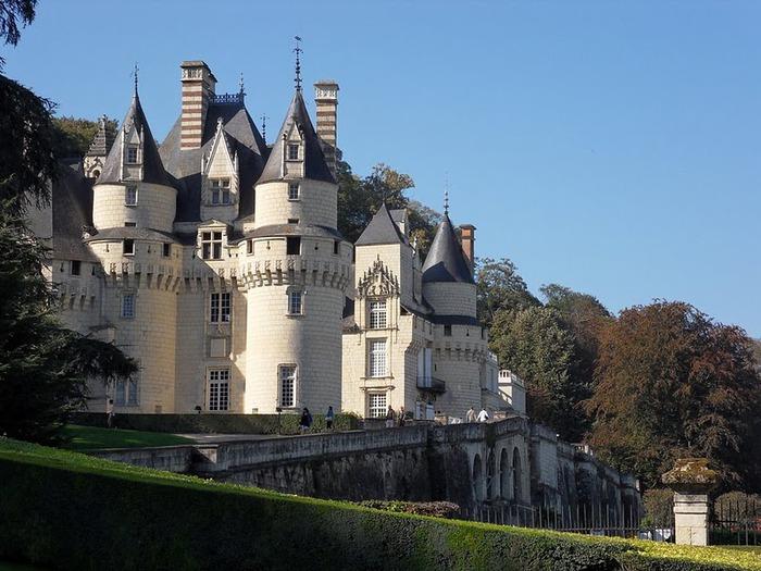 Замок Юссе - «замок спящей красавицы» 58594