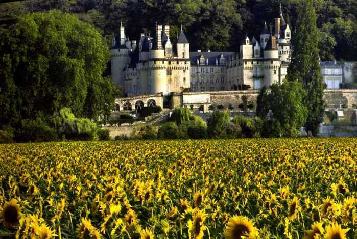 Замок Юссе - «замок спящей красавицы» 64861