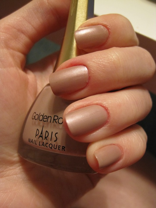Лак для ногтей Paris # 33 от Golden Rose фото 6