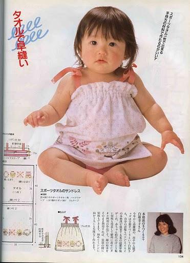 выкройка платья для девочки из японского журнала