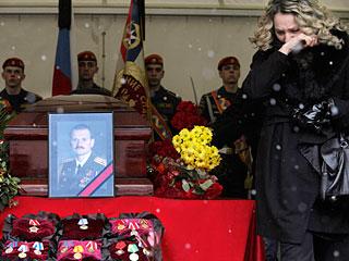 Евгений Чернышев, похороны