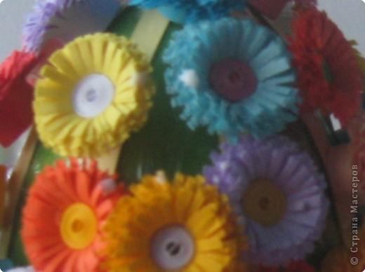 باقات زهور من ورق ملون