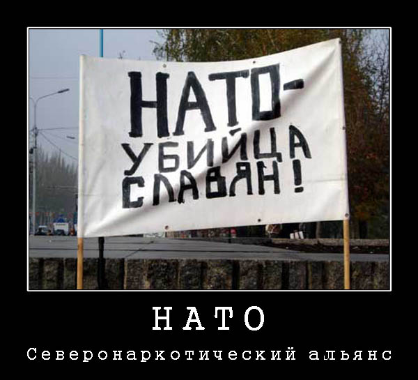 НАТО - организация Северонаркотического договора