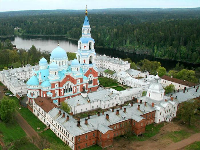 Валаамский монастырь в Карелии