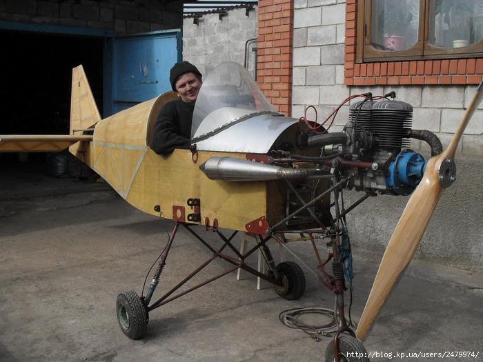 Бочаров, кулибин, самолет