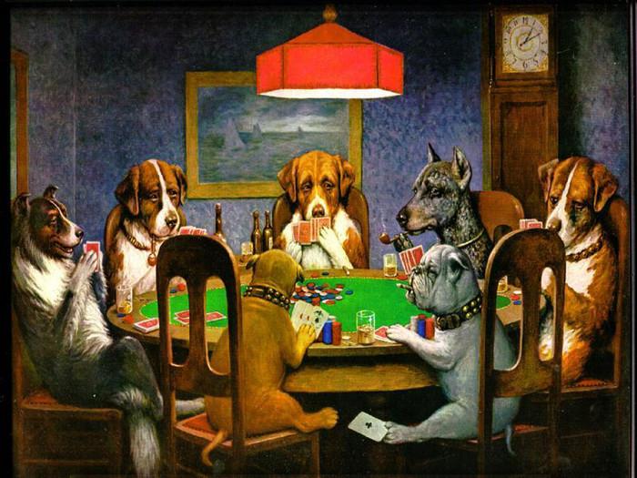 лучшая картинка про покер что я видел