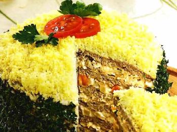печёночный торт