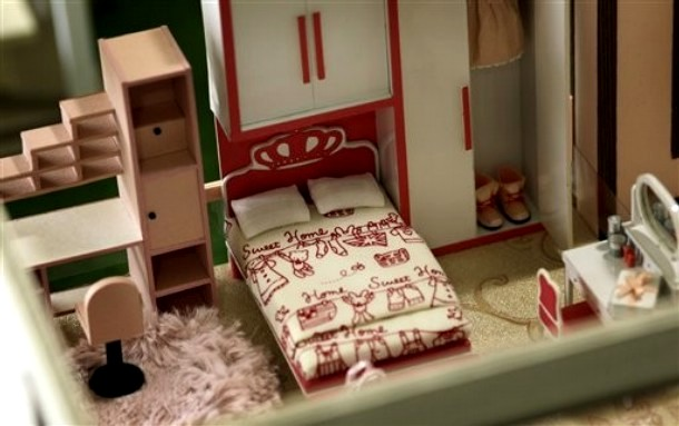 бумажные модели домов - Самое
