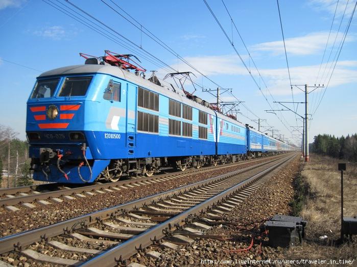 Однако, поезд был удобным по