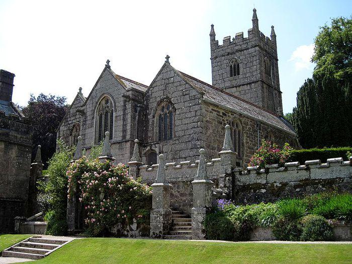 Замок Lanhydrock, графство Корнуолл. 43446