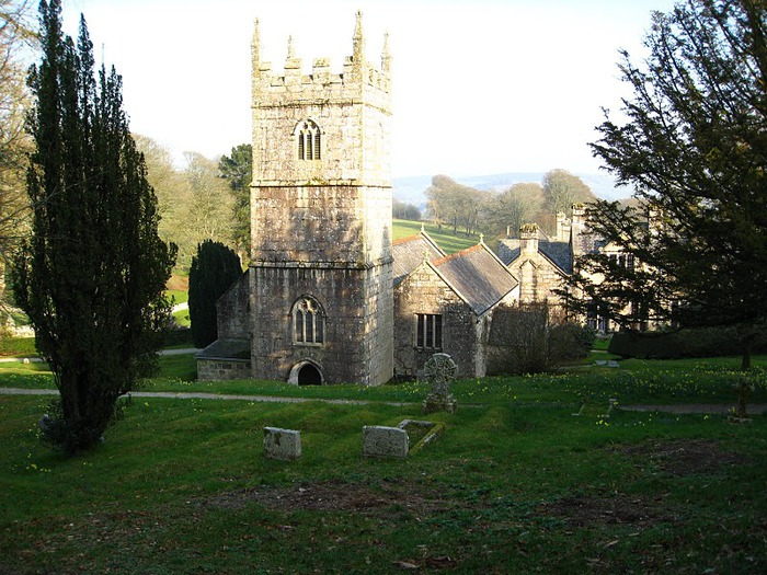 Замок Lanhydrock, графство Корнуолл. 23559