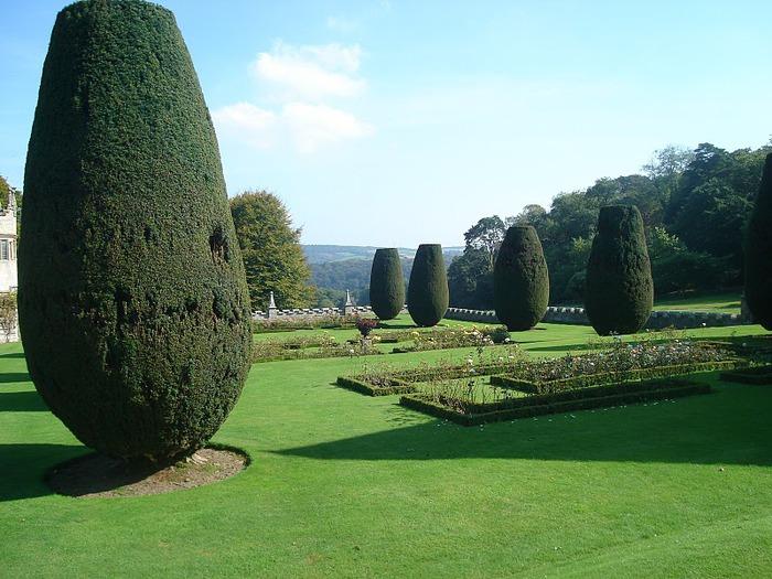 Замок Lanhydrock, графство Корнуолл. 69825