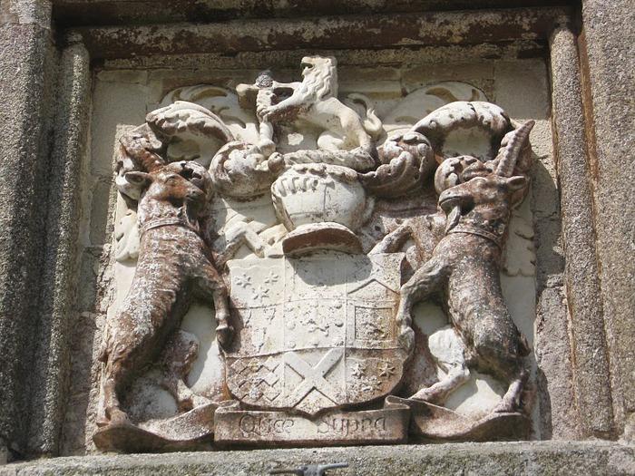 Замок Lanhydrock, графство Корнуолл. 95864