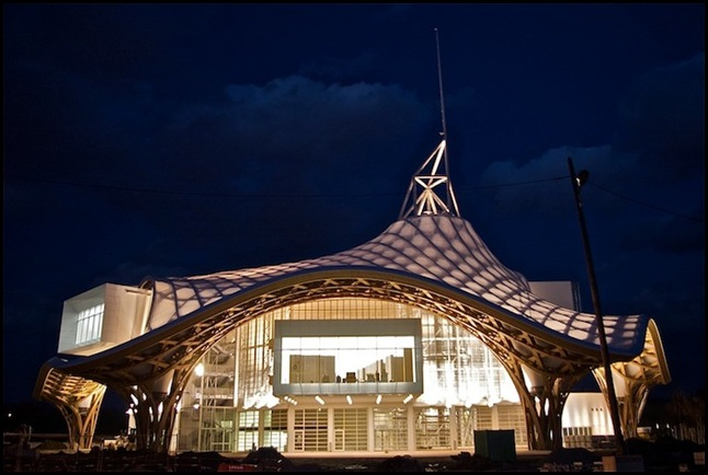Mez - новый павильон парижского Центра Пампиду